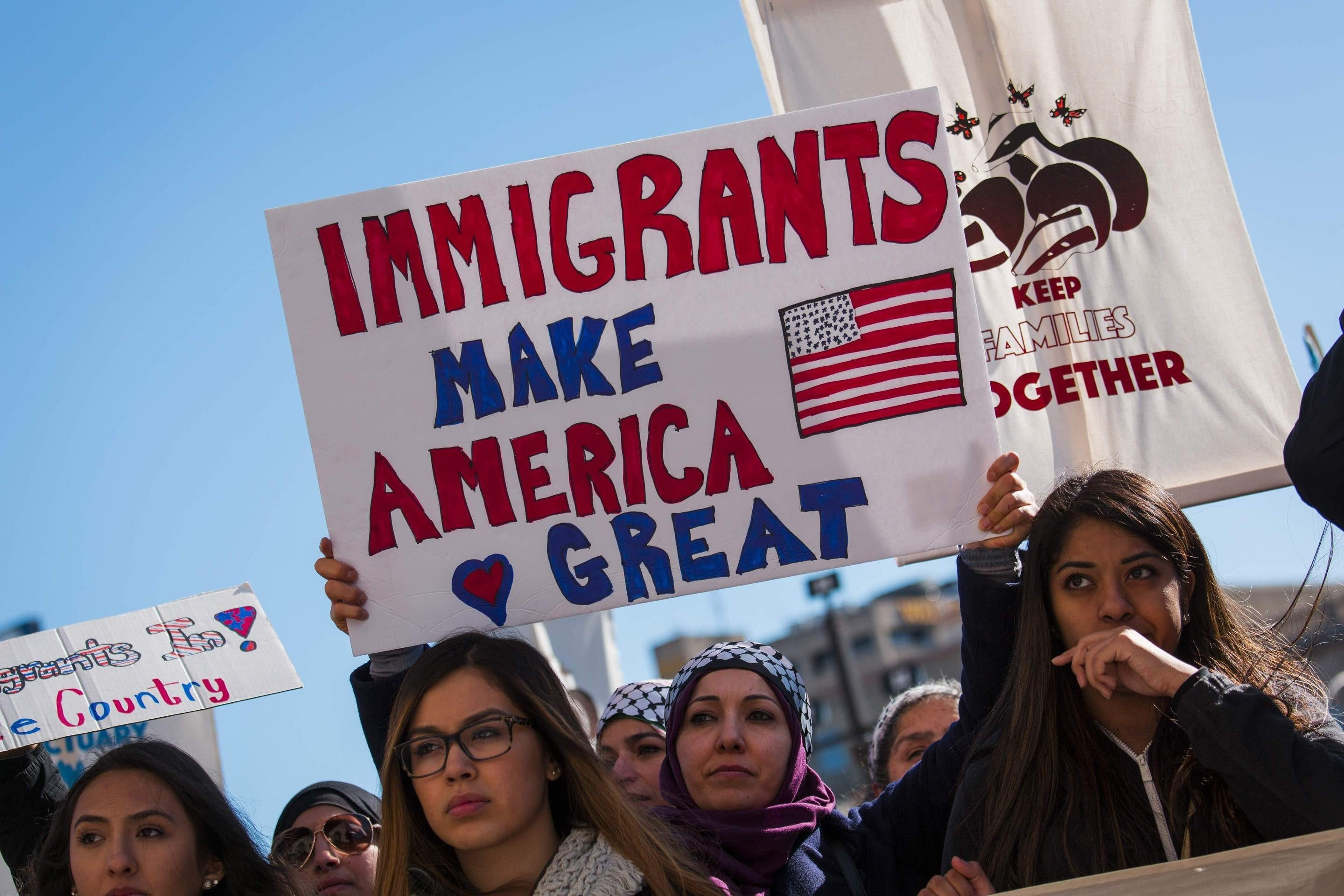 Image Immigrants make America great