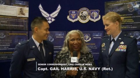 Image Lima Charlie interview US 24th Air Force Cyber Command at Intelligence & National Security Summit