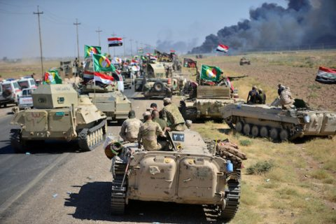 Image As Iraq captures ISIS stronghold, regional powers prepare for new realities