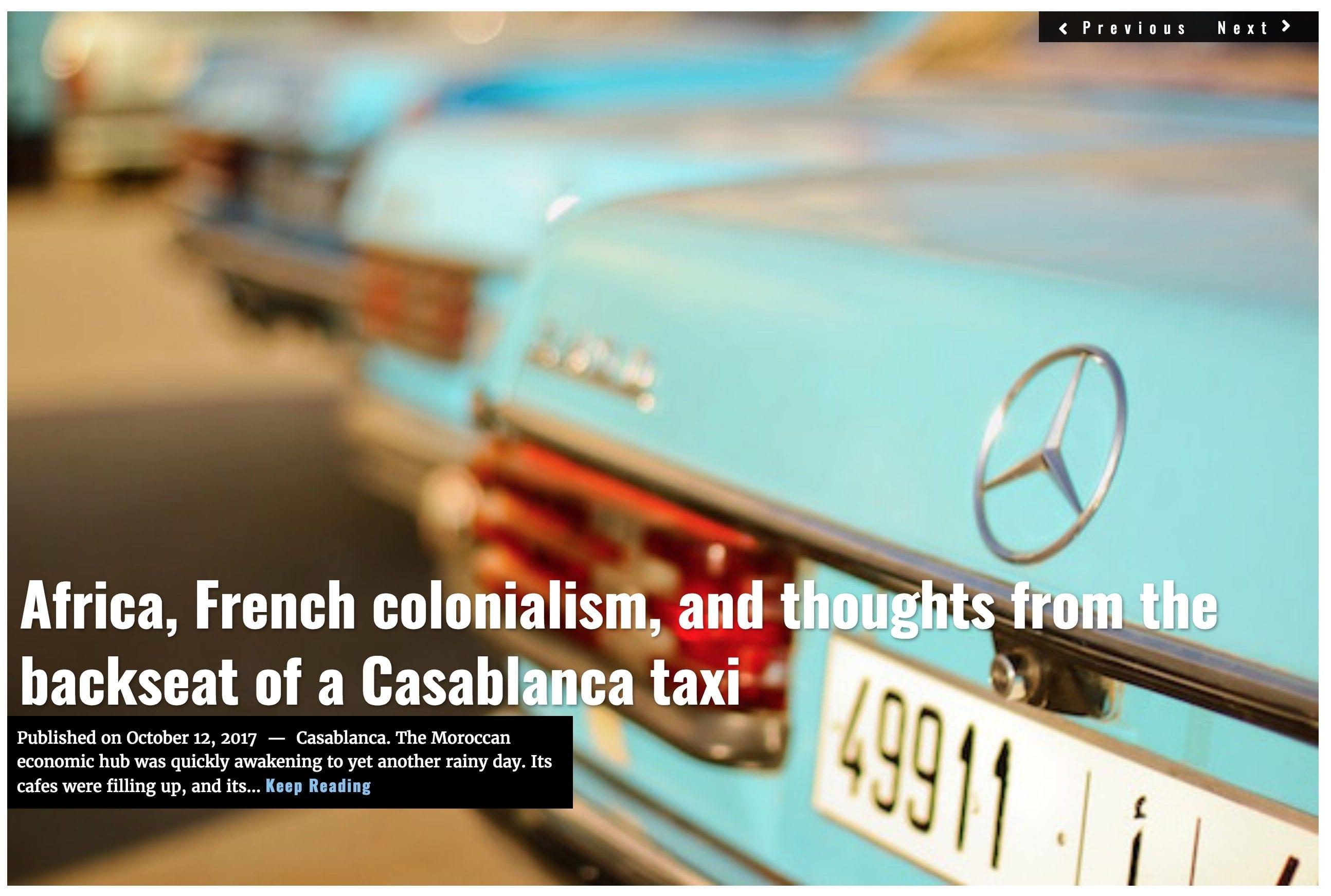 Image Lima Charlie News Headline Casablanca J.Sjoholm OCT 12