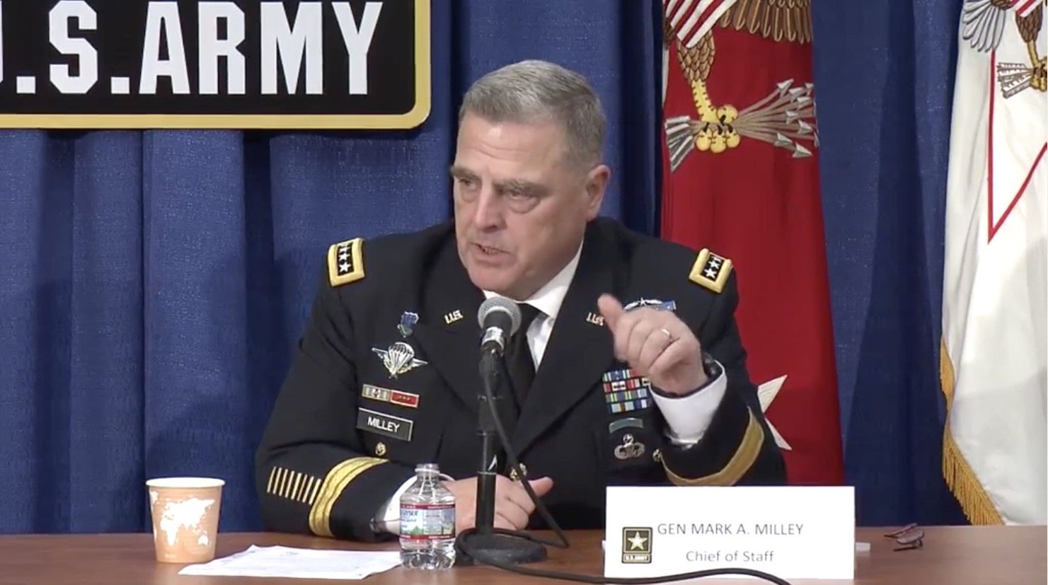 Image Chief of Staff Gen. Mark Milley