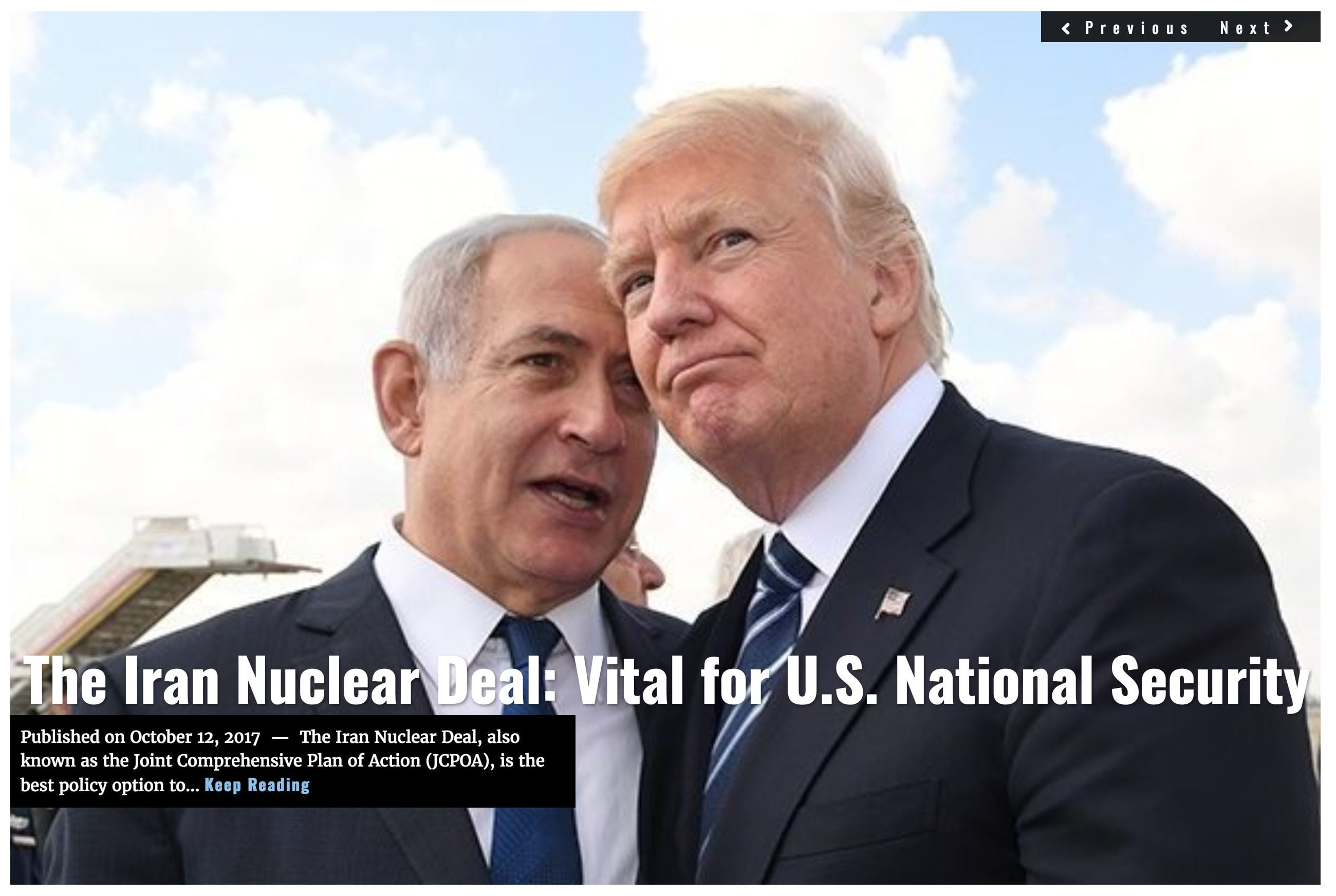 Image Lima Charlie News Headline Iran Nuclear Castelberry OCT12