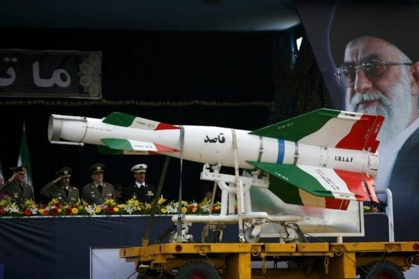 Image Iranian Missile