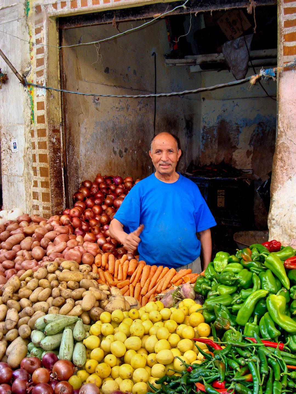 Image Casablanca, Old Medina Market (Image: Richard F. Ebert)