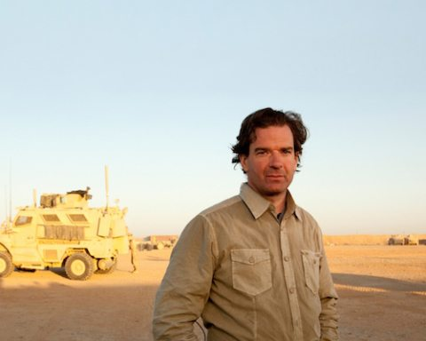 Lima Charlie interviews CNN's Peter Bergen about 'Legion of Brothers' and the future of Afghanistan (Image: Tim Hetherington, for CNN)