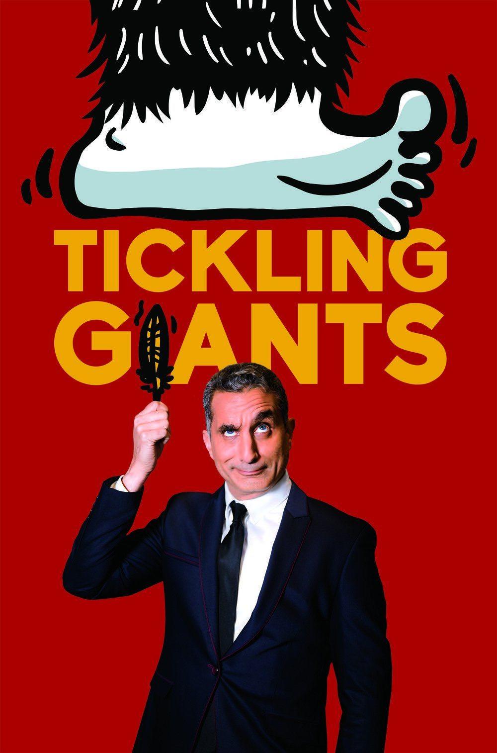 Image Tickling Giants Bassem Youssef