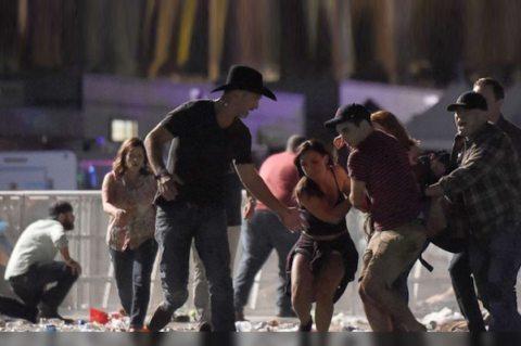 Image From Las Vegas shooting emerges everyday heroes, 'Combat Veterans'