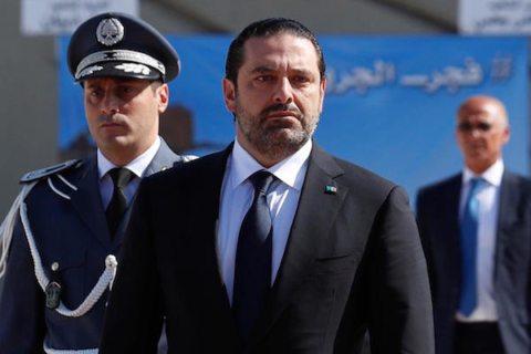 Image Lebanon crisis appears to end as PM Saad Hariri backtracks on resignation