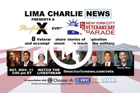 Image LIVESTREAM - NYC Veterans Day Parade - StorytellersX Show LIVE