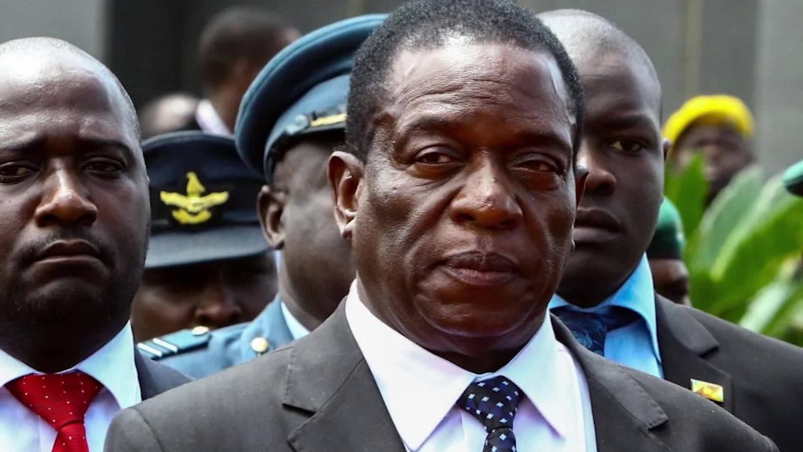 Image Emmerson Mnangagwa (CNN)