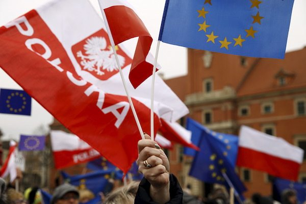 Image European Commission threatens to sanction Poland, strip voting rights over far-right judicial reforms [Image: REUTERS/Kacper Pempel]