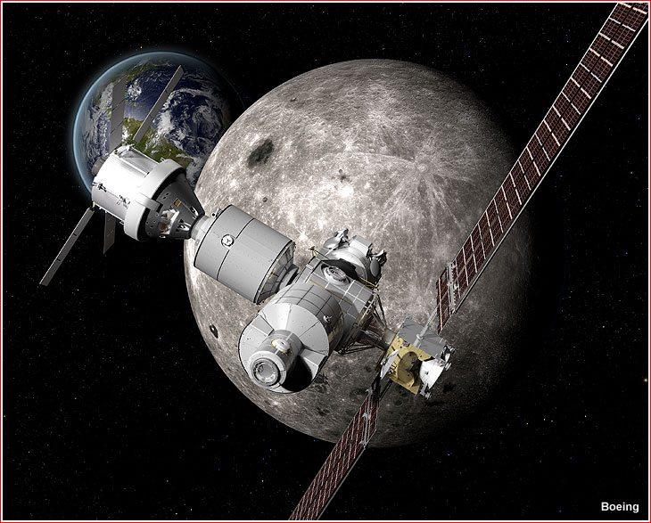 Image Moon Mars