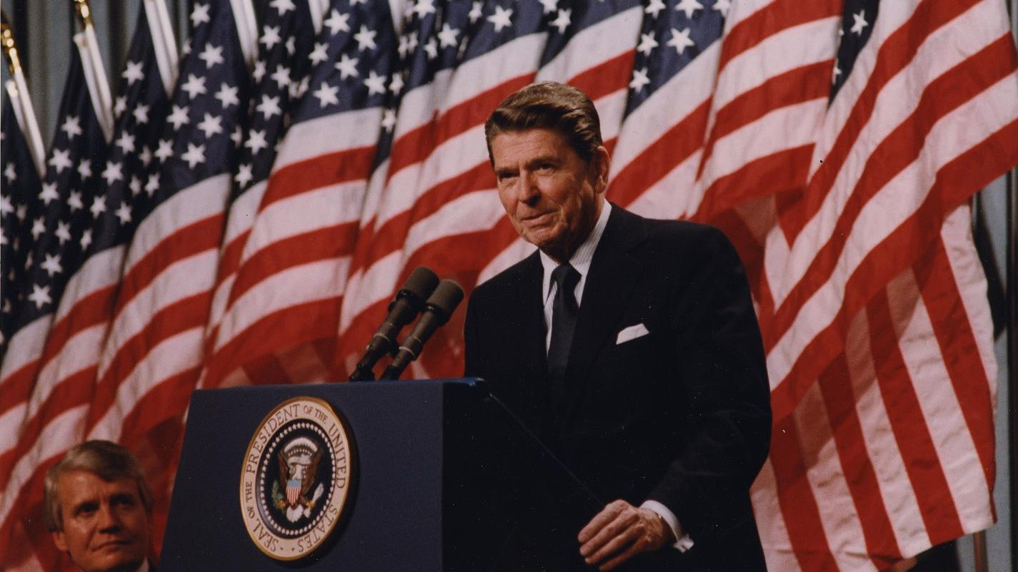 the age of american military power in the administration of president ronald reagan President ronald reagan unveils and the remaining years of reagan's administration showed reagan insisted that the united states was open to a window of.