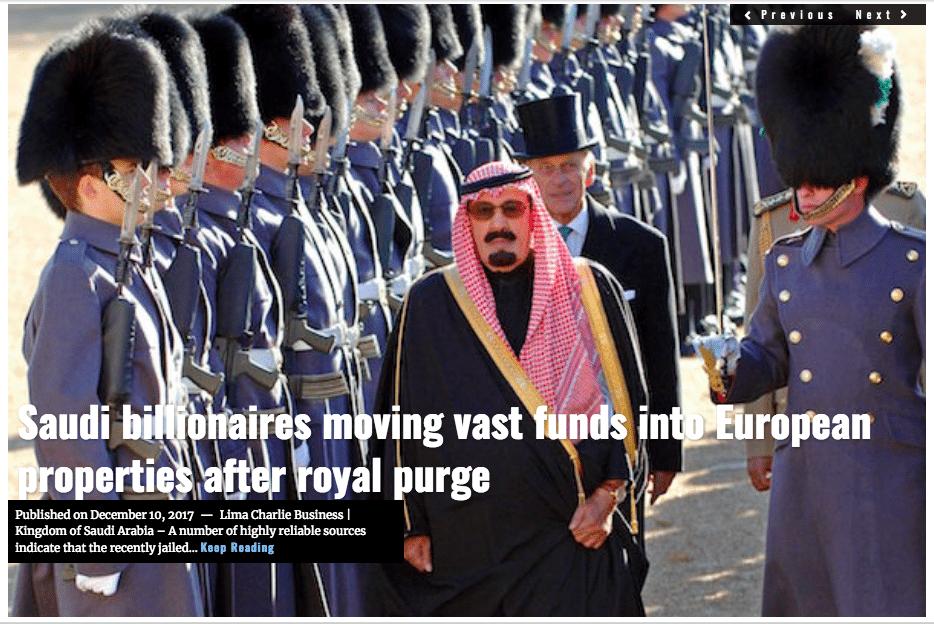 Image Lima Charlie News Headline Saudi EU invest J.Sjoholm DEC10