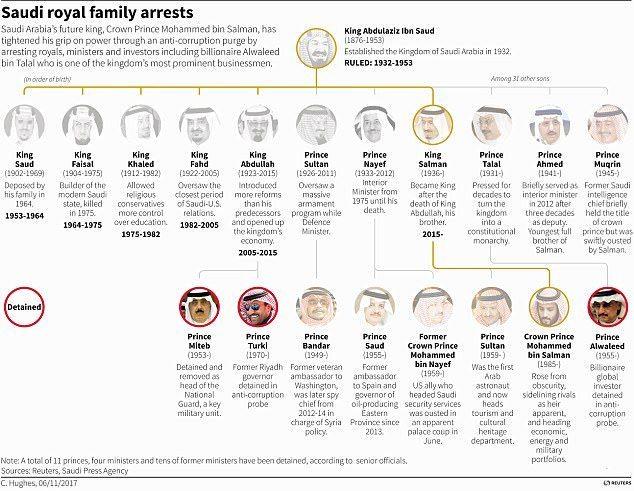 Image Saudi arrests
