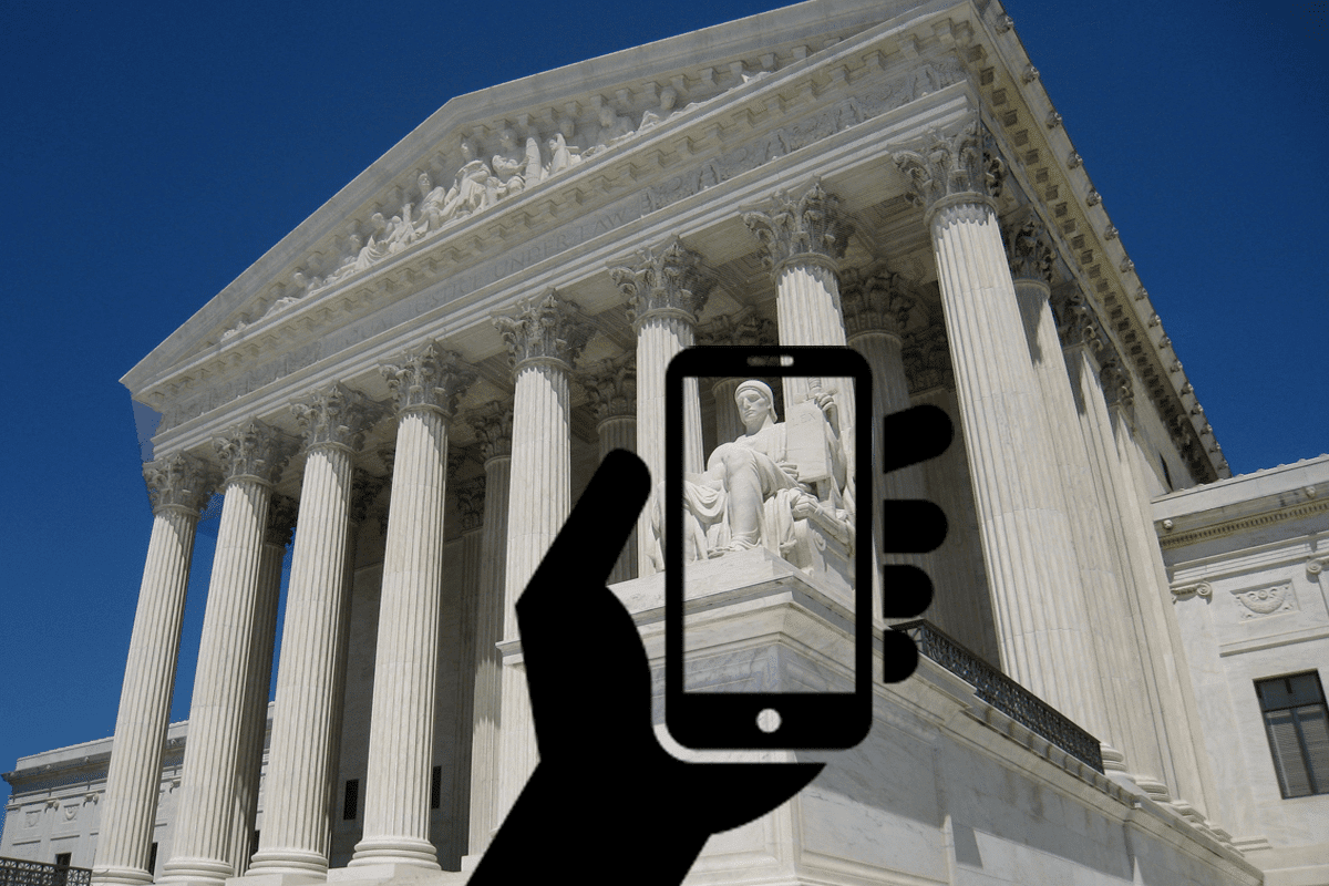 Image Supreme Court to decide on cell phone privacy
