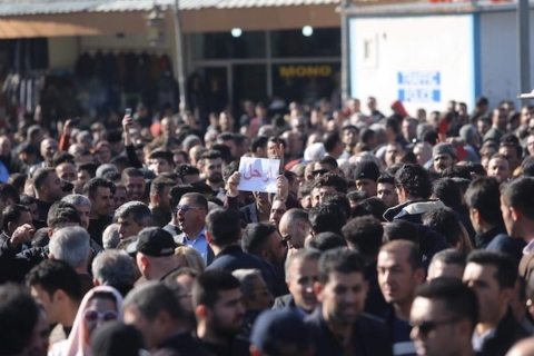 Thousands protest in Iraqi Kurdistan as government plans to cut salaries, again
