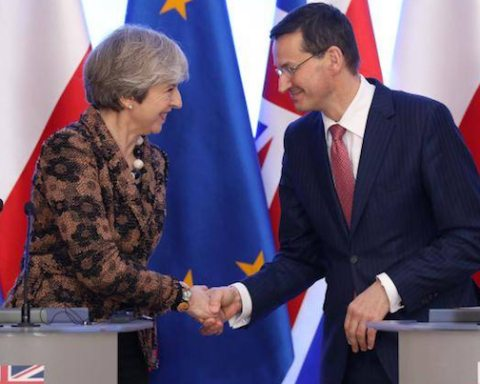 Image UK backs Poland over European Union sanction (Reuters Photo)