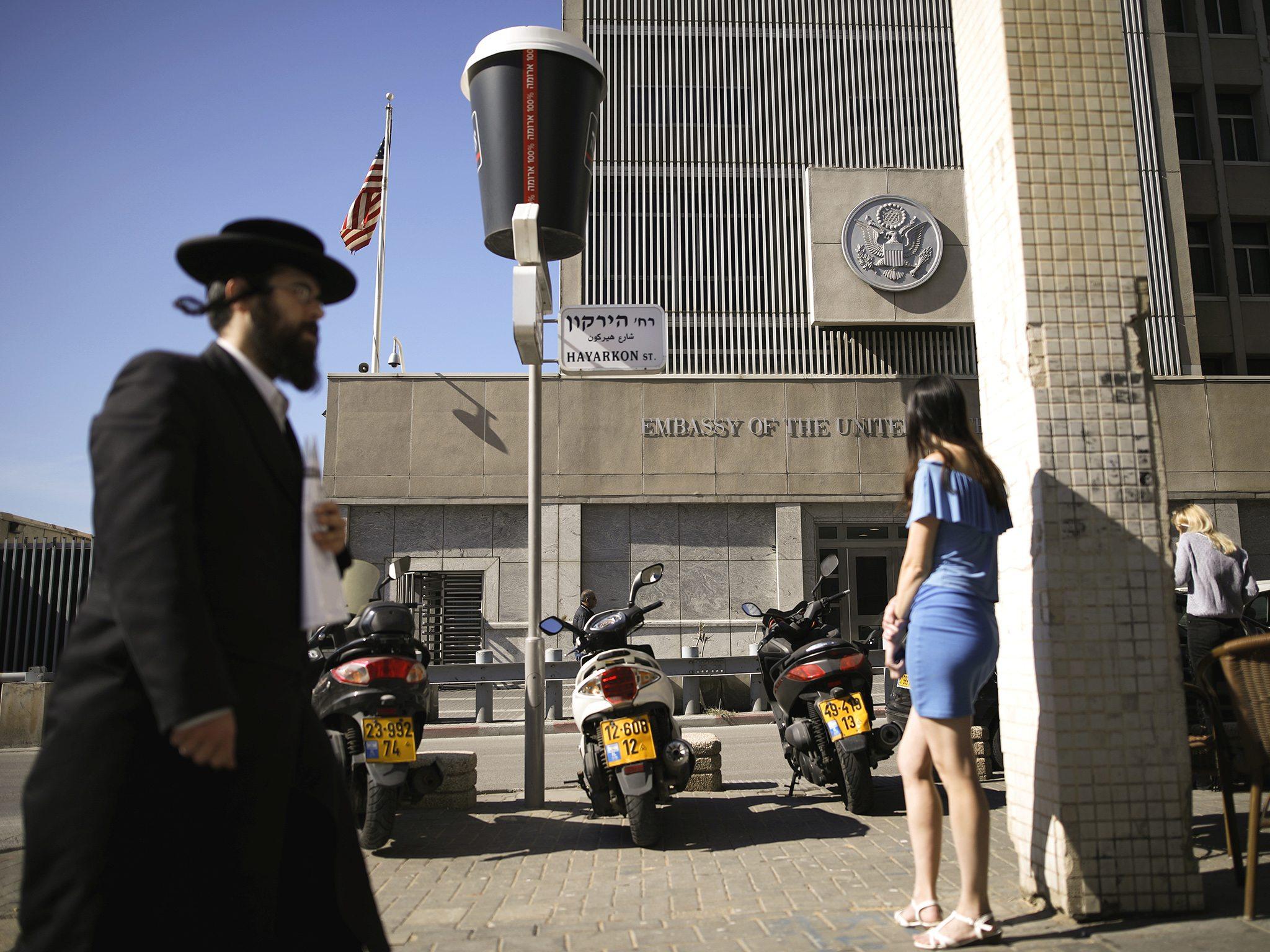 Image U.S. embassy in Tel Aviv, Israel (REUTERS/Amir Cohen)