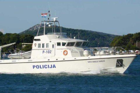 Image: Slovenia and Croatia standoff over naval boundaries