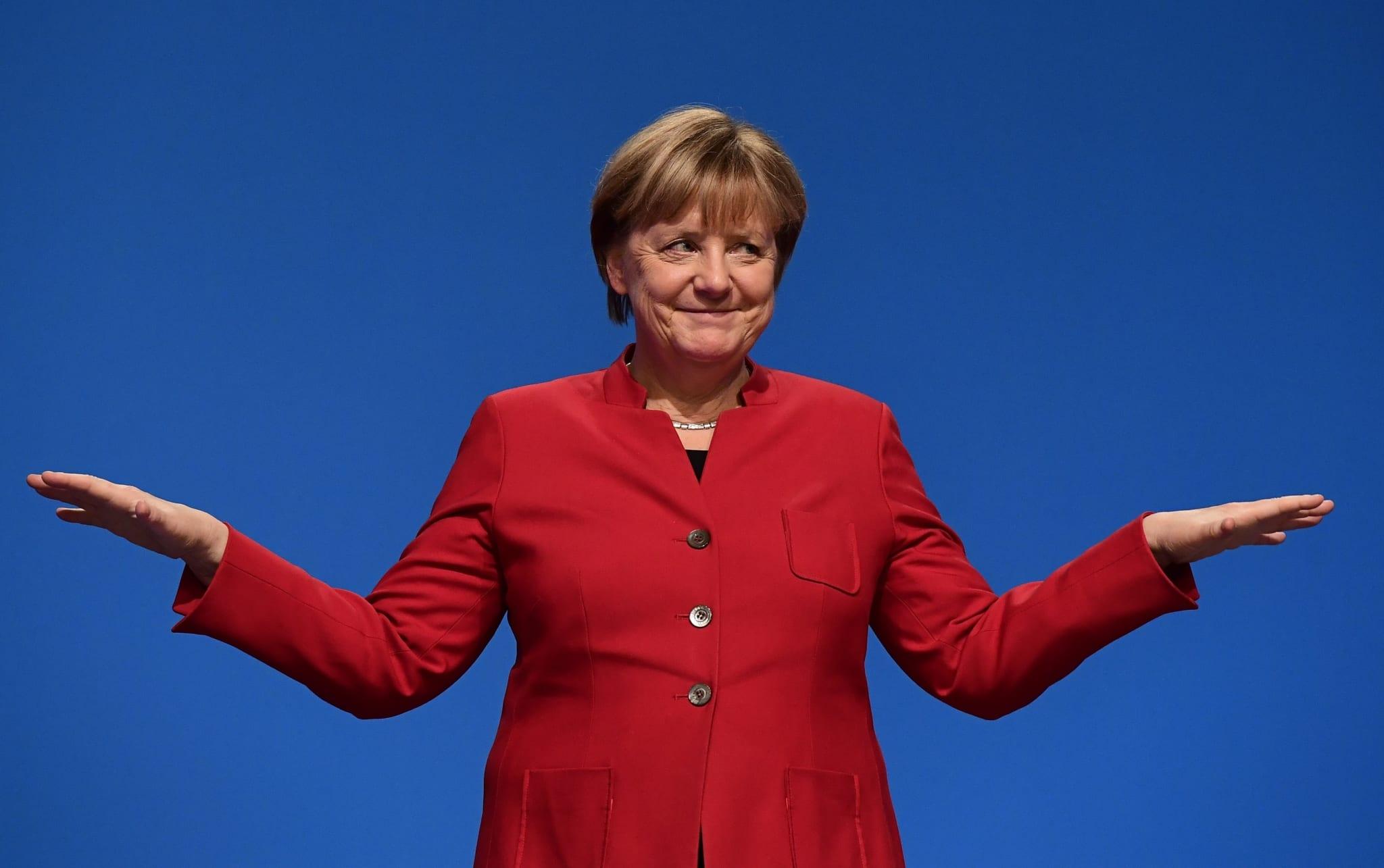 Image German Chancellor Angela Merkel [AFP / TOBIAS SCHWARZ]