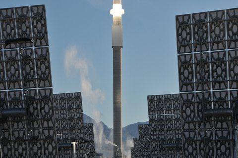 Image SolarReserve Crescent Dunes - Preheating the Receiver (Photo courtesy of advisian.com) Molten Salt Energy Storage Making Strides