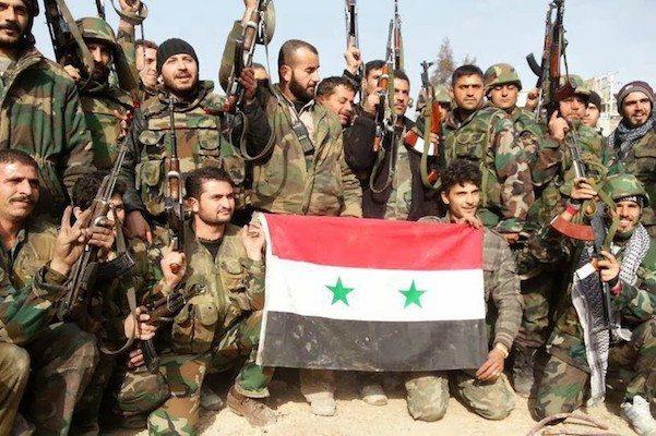 Image Syrian Regime Forces Strike at last Pockets of Resistance