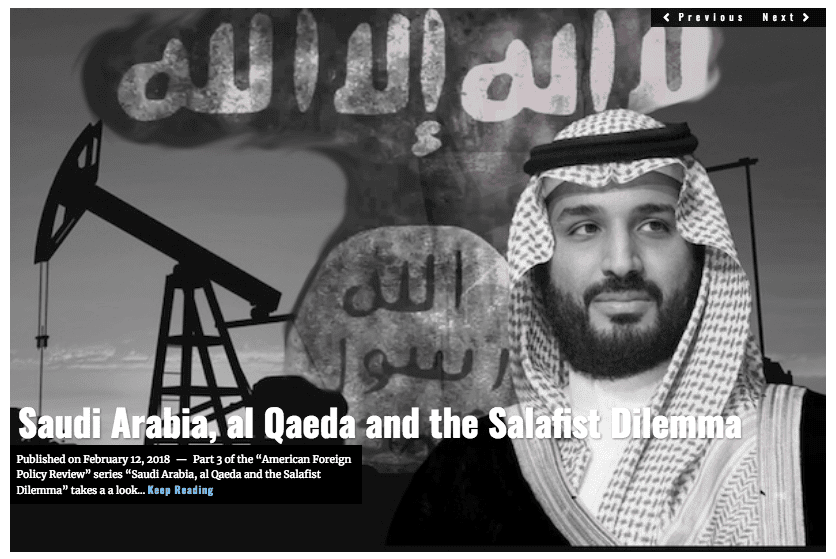 Image Lima Charlie News Headline Saudi Salafist dilemma FEB 12
