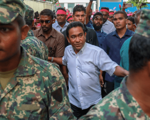 Image Maldives constitutional crisis sparks fight to gain influence among India, China, Saudi Arabia (AP Photo)