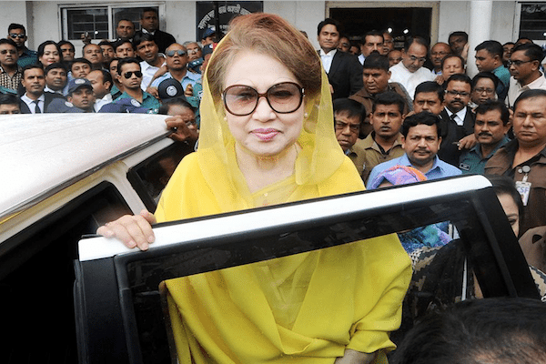 Image Khaleda Zia, former Bangladesh PM, appeals 5 year corruption sentence [Lima Charlie News]