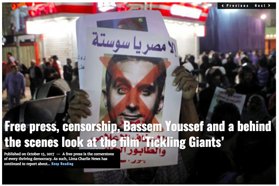 Image Lima Charlie News Headline Tickling Giants D.Polsdorfer OCT15