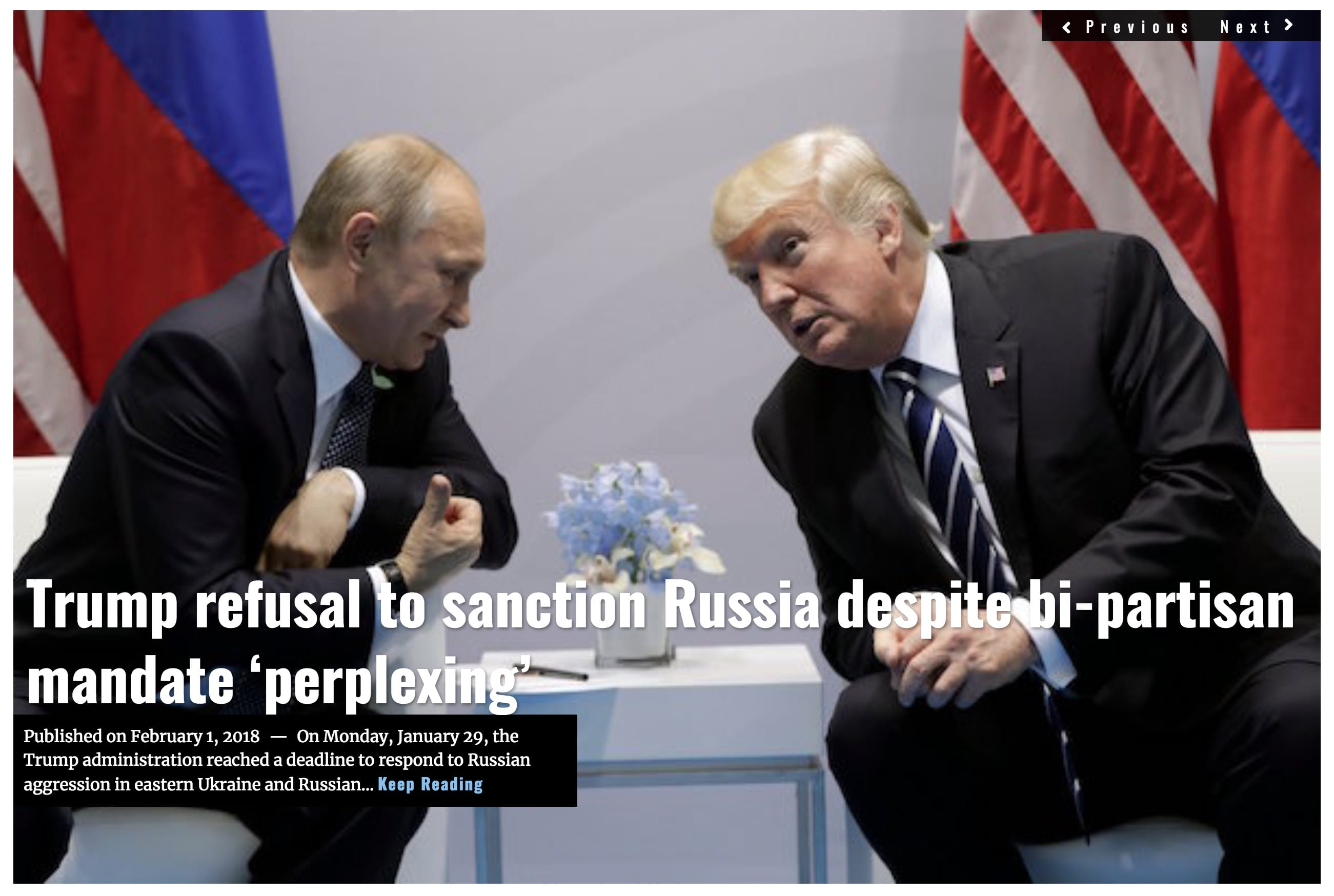Image Lima Charlie News Headline Trump Russia sanctions FEB 1 2018