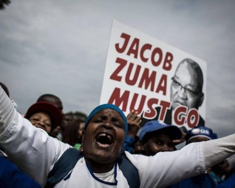 Image Zuma's parting gifts for South Africa? Toxic politics and a backward economy