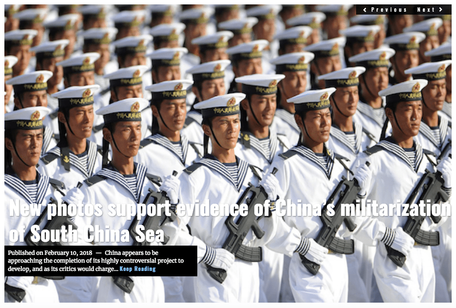 Image Lima Charlie News Headline China South China Sea FEB 10