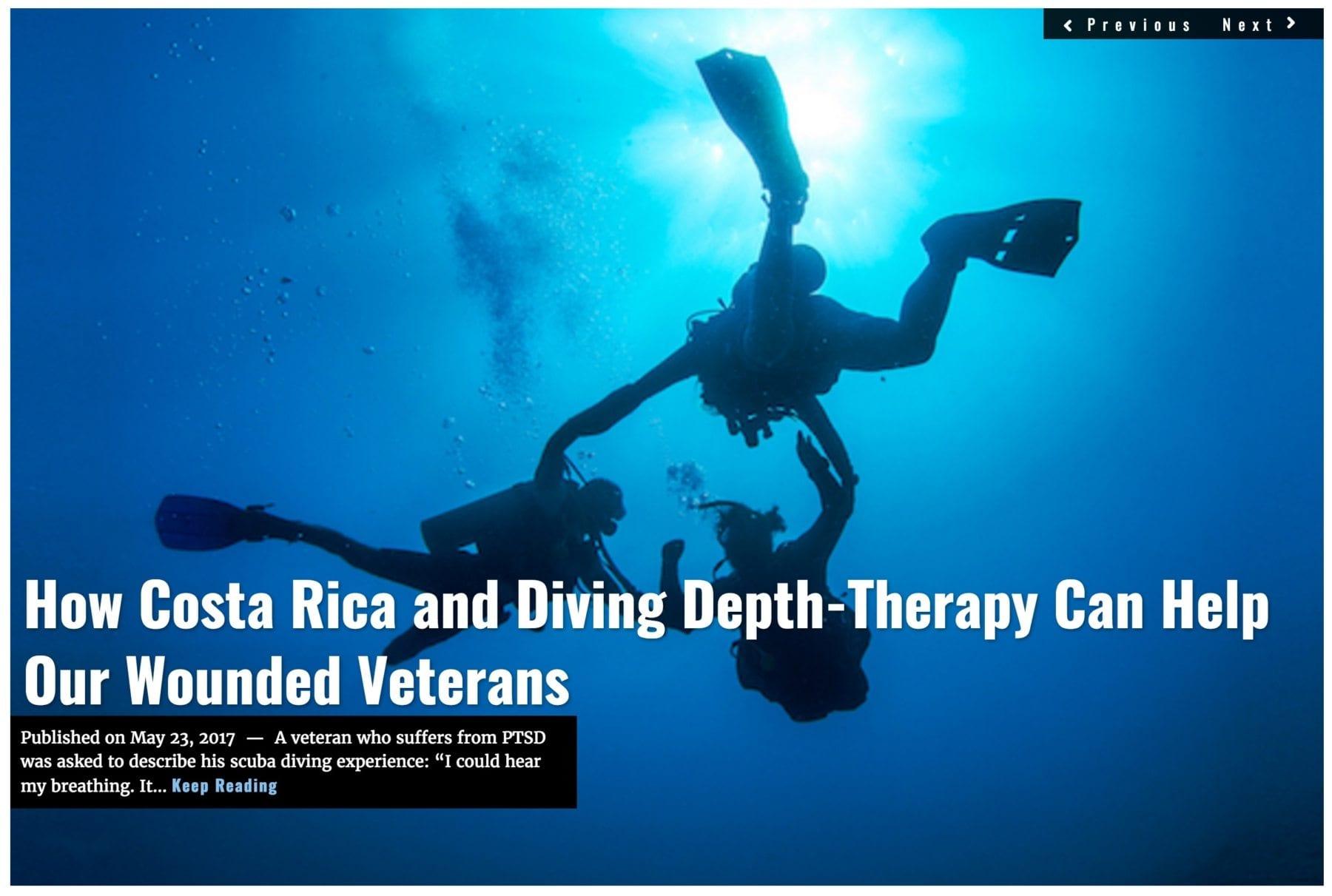 Image Lima Charlie News Headline Deep Sea Diving Therapy MAY 23 2017