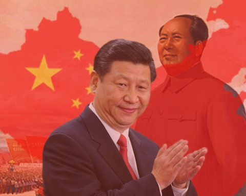 Image In Mao's shadow, Xi Jinping rules absolutely over China [Lima Charlie News]