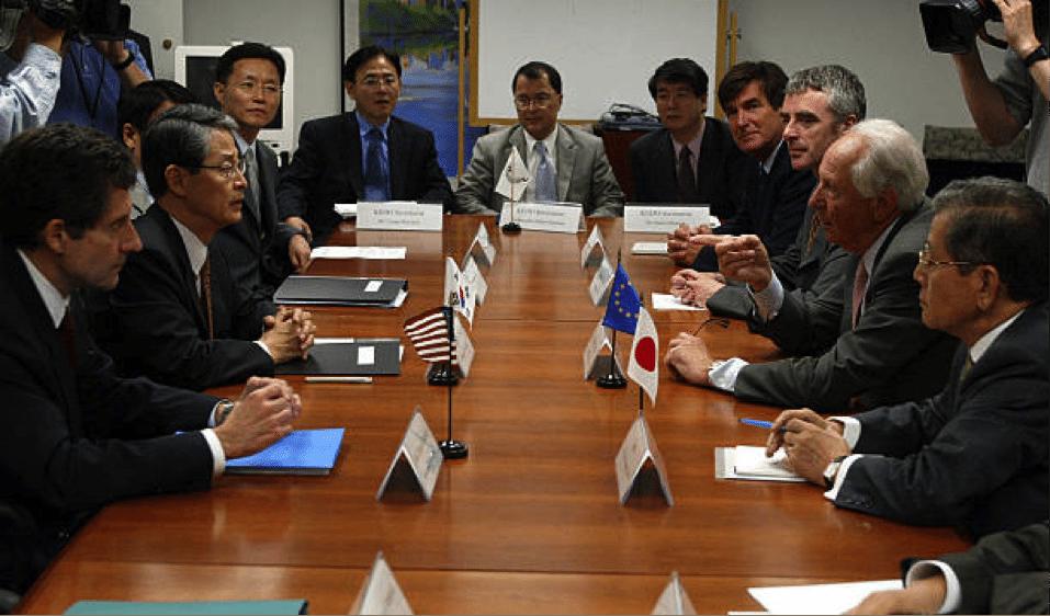 Image (Negotiations at the Korean Peninsula Energy Development Organization (KEDO))