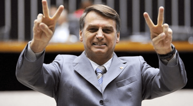 Image (Bolsonaro served in the 9th Group of Artillery of Parachutist Campaign. | Source: AP)