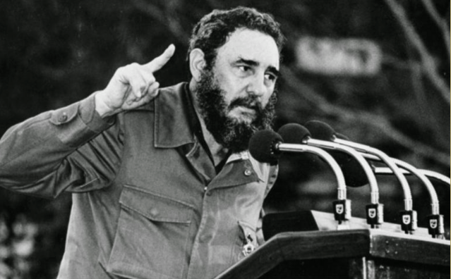 Image (Fidel Castro, seen above, converted Cuba into a one-party, socialist state under Communist power, the first of its kind in the Western Hemisphere. | Source: Acting Man)