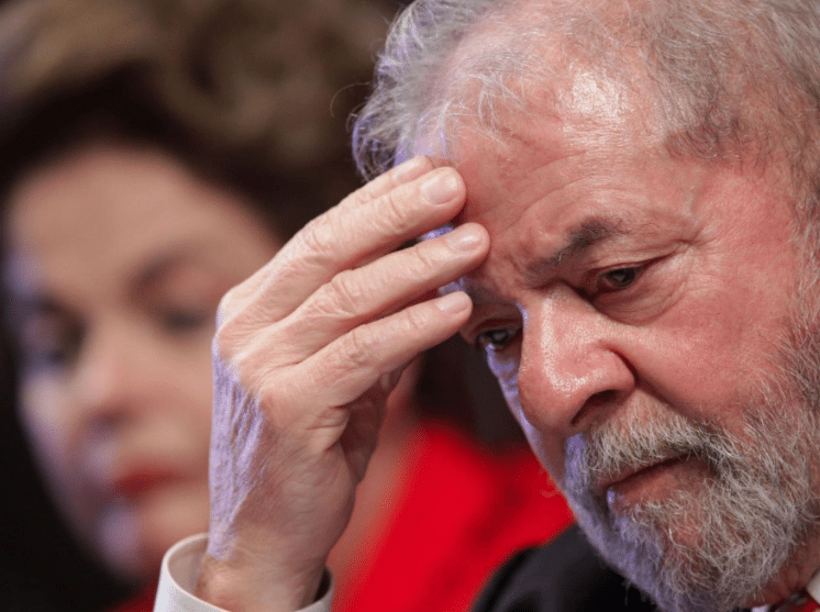 Image (Lula is now barred from seeking office, making a right-wing politician, namely Bolsonaro, very likely to win in 2018. | Source: AP)
