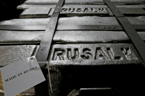 Image Aluminium price surge after US-Russia sanctions threatens worldwide production and availability [Lima Charlie News][Image: Ilya Naymushkin]