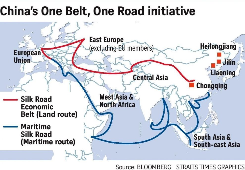 Is China's Belt and Road Initiative signaling the West's setting sun?