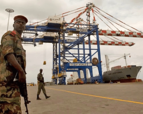 Image Fight for influence in East Africa turns ugly as foreign powers demand more of a return on investment [Lima Charlie News][Image: Ahmed Jadallah/Reuters]