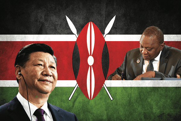 Image Kenya gambles with debt as China zeros in on East Africa markets [Lima Charlie News][Graphic: James Fox]