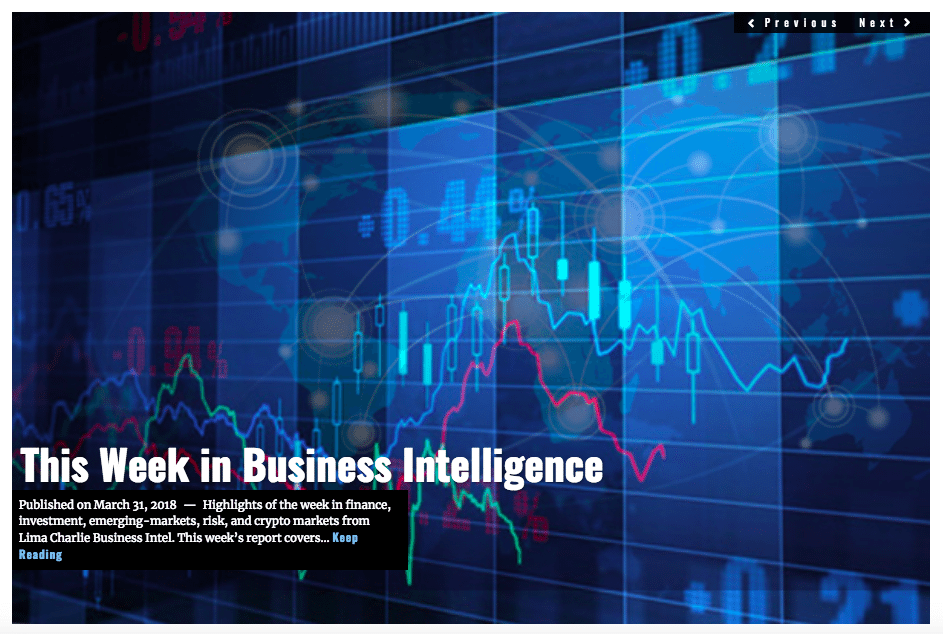 Image Lima Charlie News Headline Business Report MAR 31 2018
