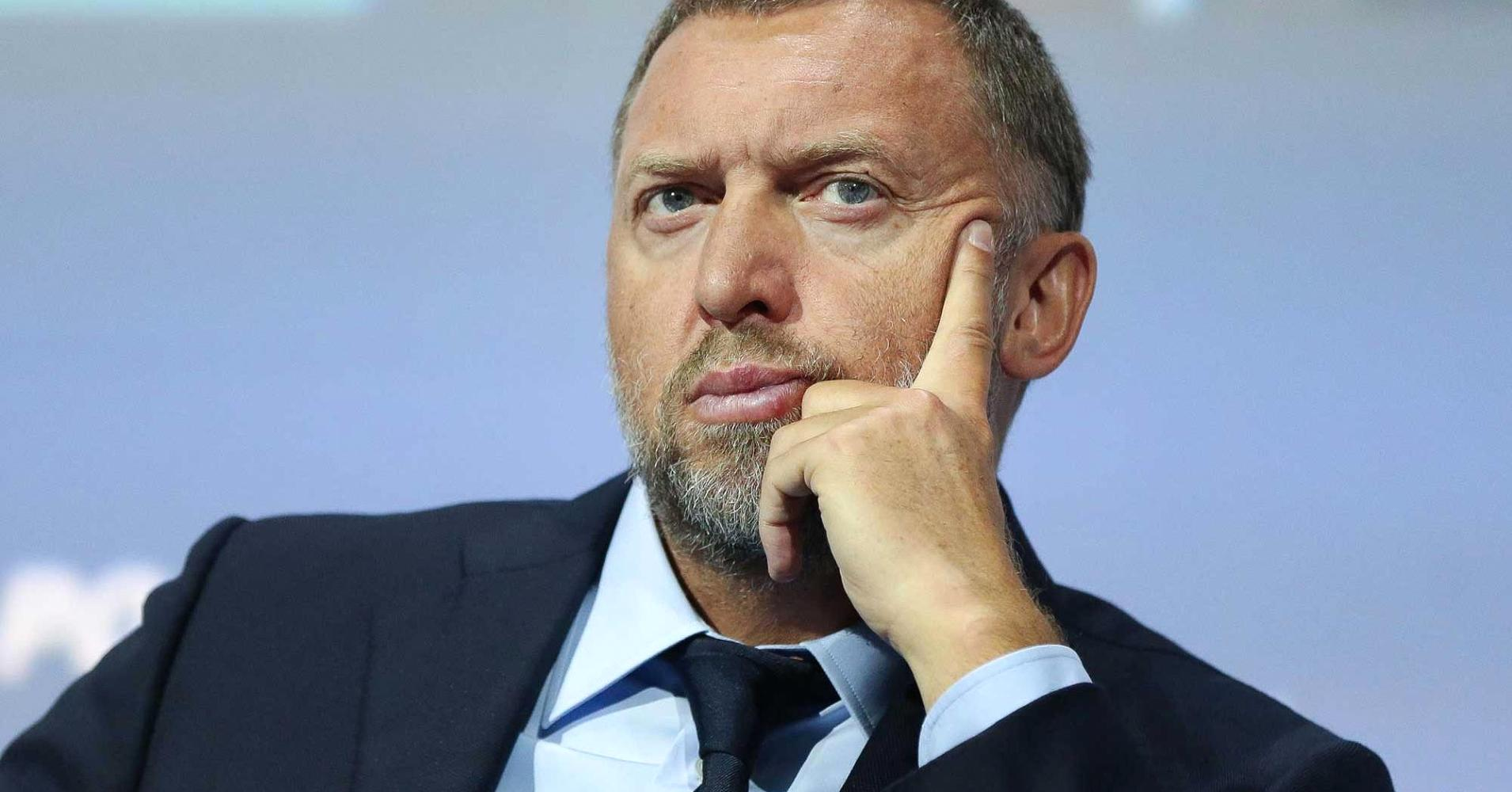 Image (OLEG DERIPASKA IS PICTURE ABOVE. DERIPASKA WAS THE OWNER OF THE LARGEST RUSSIAN INDUSTRIAL GROUP BASIC ELEMENT AND THE PRESIDENT OF EN+ GROUP AND UNITED COMPANY RUSAL, THE SECOND LARGEST ALUMINUM COMPANY IN THE WORLD UNTIL 2018. | SOURCE: BLOOMBERG)