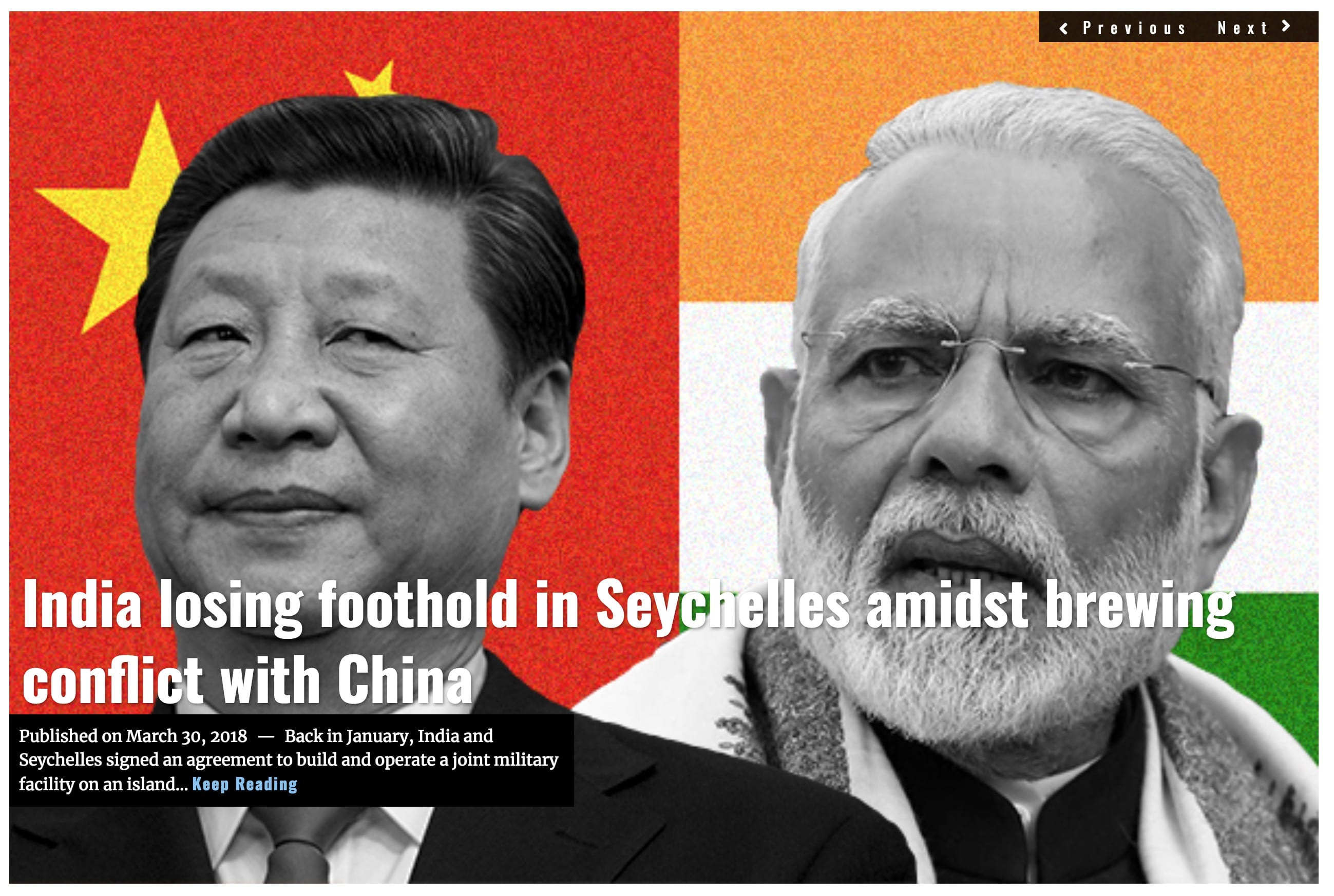 Image Lima Charlie News Headline Seychelles India China MAR 30 2018
