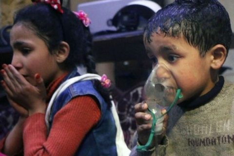 Image Syria chemical weapons attack is not without skeptics [Lima Charlie News][Image: White Helmets]