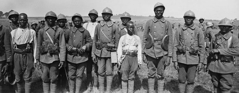 Image [Les Tirailleurs Sénégalais][Courtesy of Senegal online]