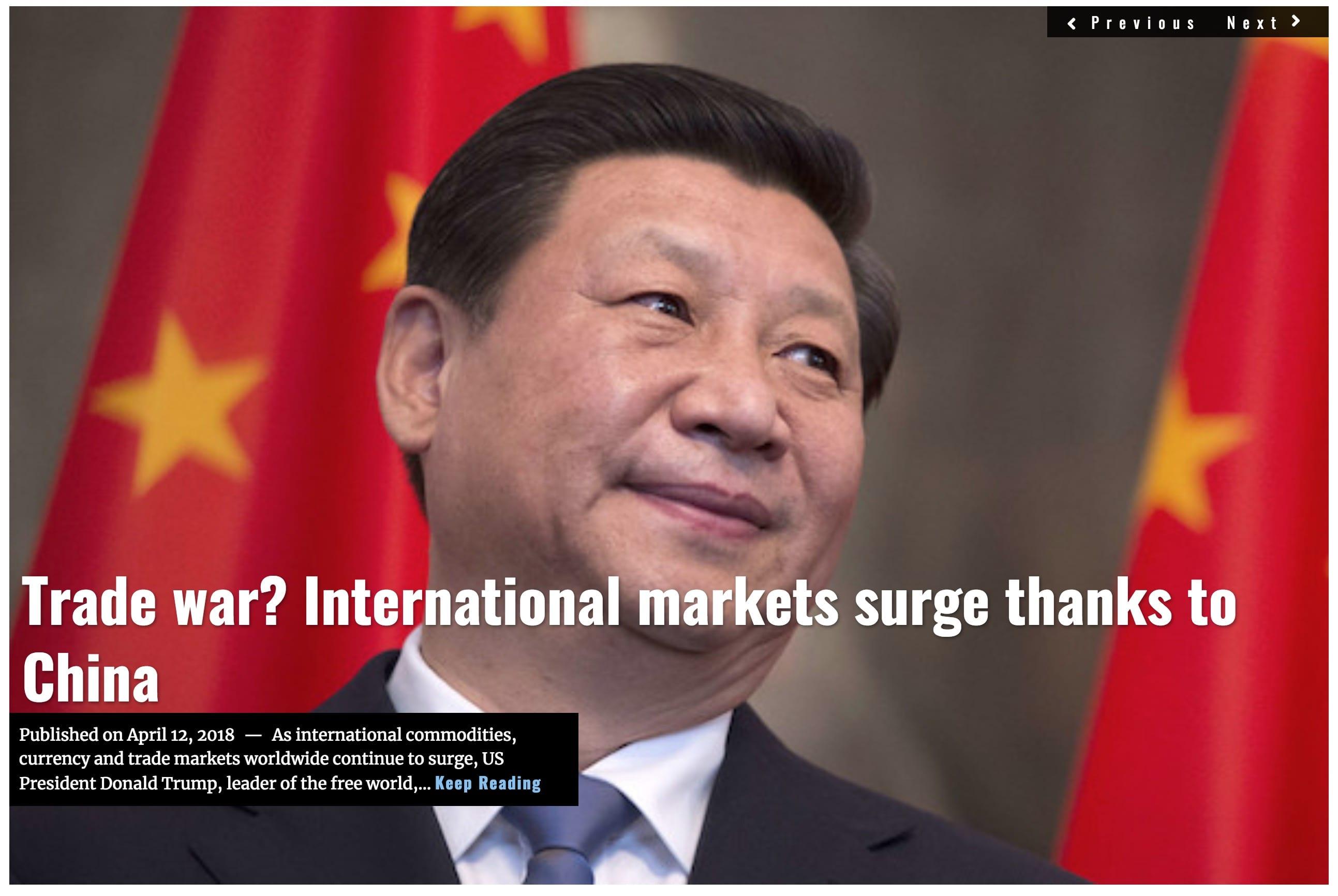 Image Lima Charlie News Headline Trade War China J.Sjoholm APR 12 2018